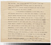 Letter from Katherine Anne Porter to Gay Porter Holloway, circa 1932-1936