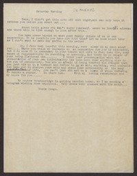 Letter from Katherine Anne Porter to Eugene Pressly, circa March 1937