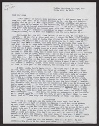Letter from Katherine Anne Porter to Albert Erskine, July 04, 1940