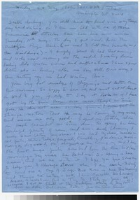 Letter from Katherine Anne Porter to Gay Porter Holloway, May 23, 1966