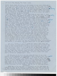 Letter from Katherine Anne Porter to Gay Porter Holloway, before April 10, 1955