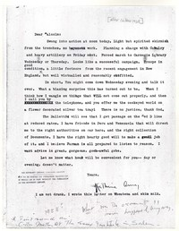 Letter from Katherine Anne Porter to Malcolm Cowley, June 16, 1928