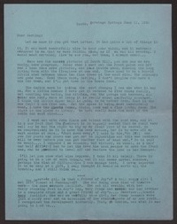 Letter from Katherine Anne Porter to Albert Erskine, June 11, 1941