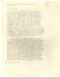 Letter from Katherine Anne Porter to Donald Elder, March 20, 1954