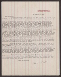 Letter from Katherine Anne Porter to Ann Holloway Heintze, February 02, 1948