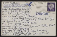 Letter from Katherine Anne Porter to David P. Heintze, June 09, 1961