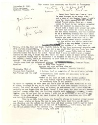 Letter from Katherine Anne Porter to James Stern, September 09, 1963