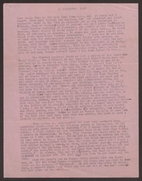 Letter from Katherine Anne Porter to Paul Porter Jr., September 14, 1949