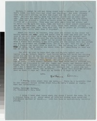 Letter from Katherine Anne Porter to Gay Porter Holloway, February 14, 1942