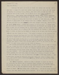Letter from Katherine Anne Porter to Eugene Pressly, January 17, 1932