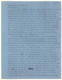 Letter from Katherine Anne Porter to Glenway Wescott, March 06, 1957