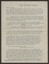 Letter from Katherine Anne Porter to Harrison B Porter, February 28, 1935
