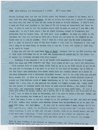 Letter from Katherine Anne Porter to Gay Porter Holloway, January 28, 1965