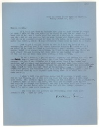 Letter from Katherine Anne Porter to Monroe Wheeler, March 30, 1942