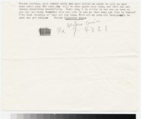 Letter from Katherine Anne Porter to Gay Porter Holloway, May 22, 1947
