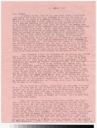 Letter from Katherine Anne Porter to Gay Porter Holloway, August 08, 1949