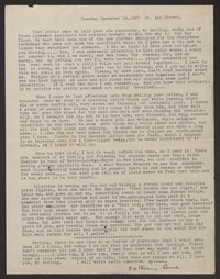 Letter from Katherine Anne Porter to Albert Erskine, December 14, 1937