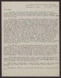 Letter from Katherine Anne Porter to Eugene Pressly, September 17, 1937