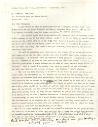 Letter from Katherine Anne Porter to Barbara Thompson Mueenuddin Davis, December 05, 1956