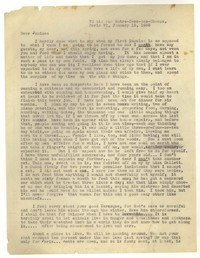 Letter from Katherine Anne Porter to Janice Biala, January 15, 1936