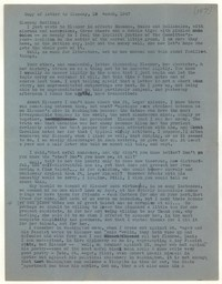 Letter from Katherine Anne Porter to Glenway Wescott, March 19, 1947