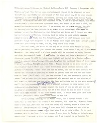 Letter from Katherine Anne Porter to Monroe Wheeler, September 03, 1963
