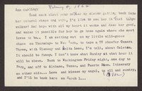 Letter from Katherine Anne Porter to Ann Holloway Heintze, February 04, 1964