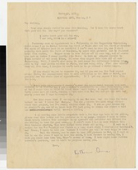 Letter from Katherine Anne Porter to Gay Porter Holloway, March 18, 1931
