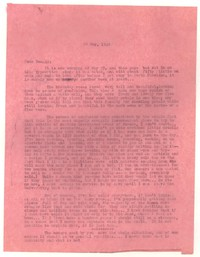 Letter from Katherine Anne Porter to Donald Elder, May 22, 1949