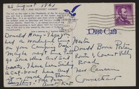 Letter from Katherine Anne Porter to Donald B. Heintze, August 25, 1961