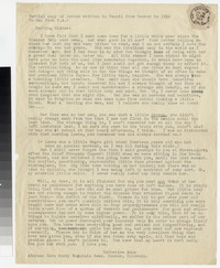 Letter from Katherine Anne Porter to Gay Porter Holloway, July 30, 1919