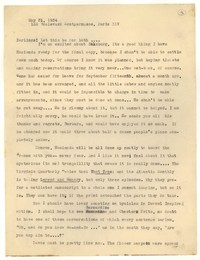 Letter from Katherine Anne Porter to Monroe Wheeler and Barbara Harrison Wescott, May 31, 1934