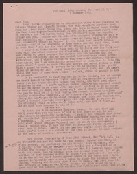 Letter from Katherine Anne Porter to Paul Porter Jr., October 05, 1951