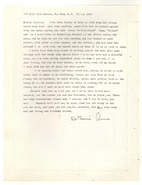 Letter from Katherine Anne Porter to George Platt Lynes, May 23, 1955