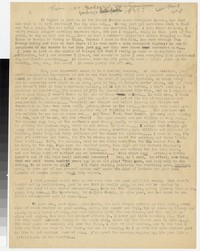 Letter from Katherine Anne Porter to Gay Porter Holloway, circa October 11, 1933
