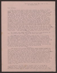 Letter from Katherine Anne Porter to Paul Porter Jr., October 13, 1951