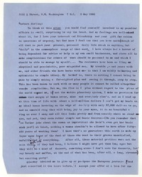 Letter from Katherine Anne Porter to Barbara Harrison Wescott, May 03, 1962