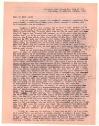 Letter from Katherine Anne Porter to William Goyen, July 06, 1951