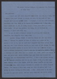 Letter from Katherine Anne Porter to Ann Holloway Heintze, July 17, 1945