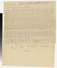 Letter from Katherine Anne Porter to Gay Porter Holloway and Harrison B. Porter, October 11, 1933