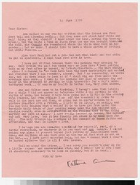 Letter from Katherine Anne Porter to Gay Porter Holloway, June 14, 1950