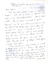 Letter from Katherine Anne Porter to Genevieve Taggard, November 14, 1924