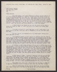 Letter from Katherine Anne Porter to Paul Porter Jr., March 28, 1963