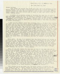 Letter from Katherine Anne Porter to Gay Porter Holloway, June 19, 1943