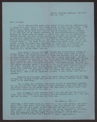 Letter from Katherine Anne Porter to Albert Erskine, May 29, 1941