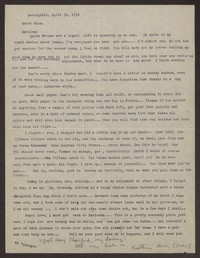 Letter from Katherine Anne Porter to Eugene Pressly, April 30, 1934