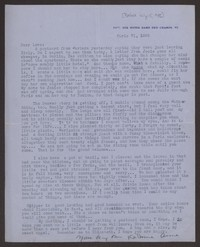 Letter from Katherine Anne Porter to Eugene Pressly, before July 15, 1935