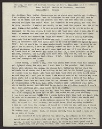Letter from Katherine Anne Porter to Ann Holloway Heintze, June 20, 1952