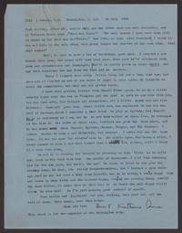 Letter from Katherine Anne Porter to Paul Porter Jr., July 29, 1960