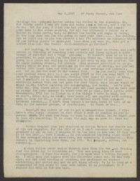 Letter from Katherine Anne Porter to Eugene Pressly, May 03, 1937